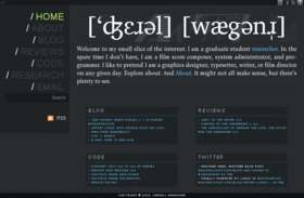 Theme Driven Web Design
